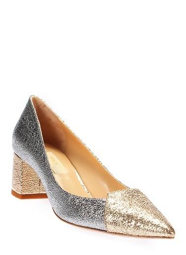 Kalın Topuklu Ayakkabı-İnci